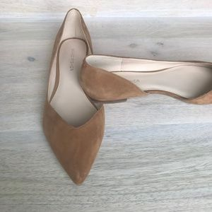 Marc Fisher Shoes - Marc Fisher Nude Flats - WORN ONCE